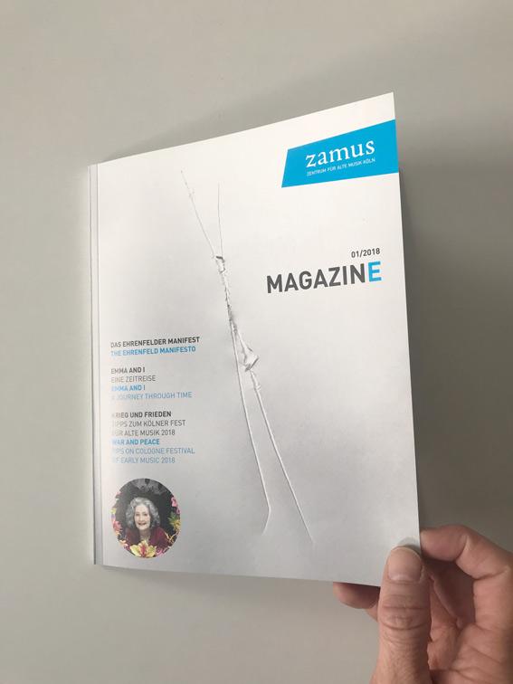 Titel zamus Magazin