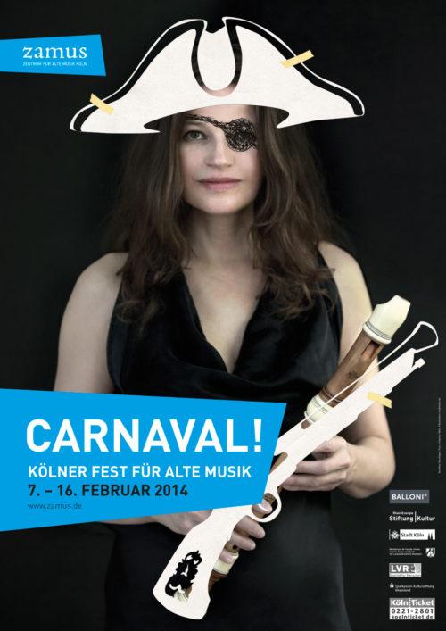 Carnaval! Kampagne zum Fest für Alte Musik