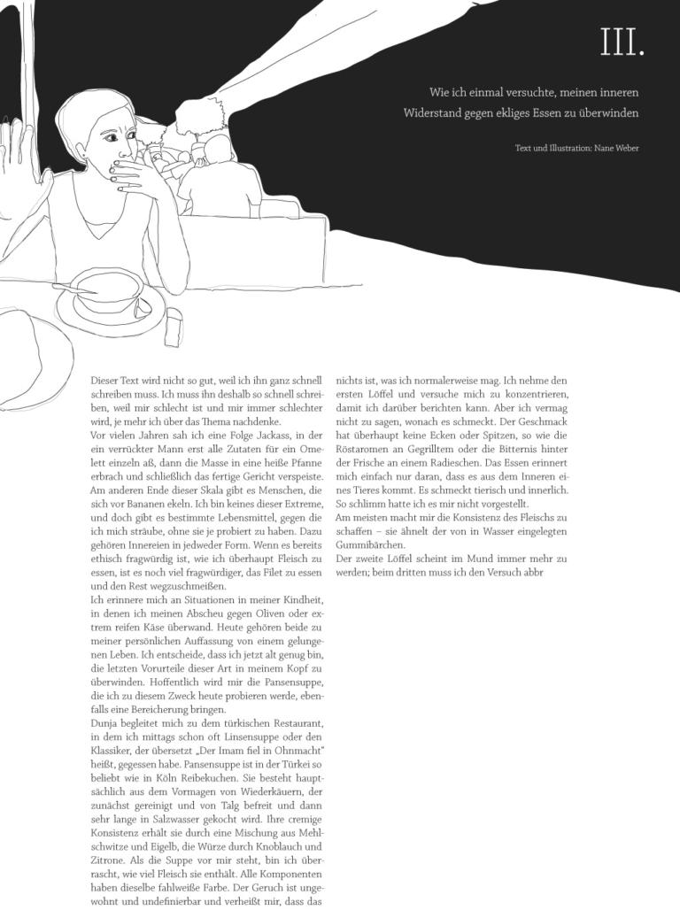 """Text und Illustration zum Thema """"Der innere Widerstand"""" aus ehrenfelder"""