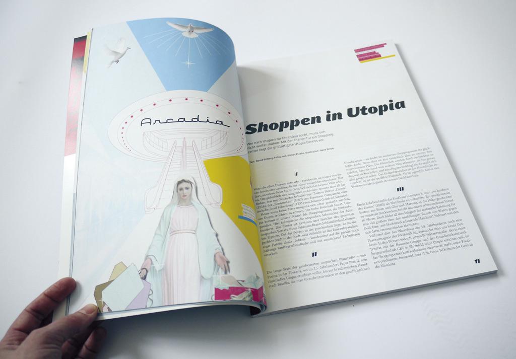 Illustration im Magazin ehrenfelder